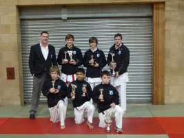 Gold medals at the East England open