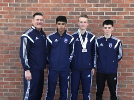 James Arnold's success at the English Championships