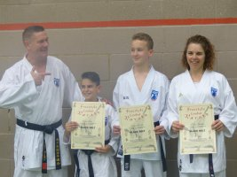 Three New Black Belts