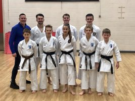 SEKF Demo Squad Train With The England Kata Team