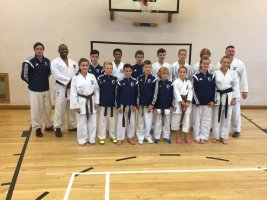 Willie Thomas Runs Kumite Course For The SEKF