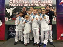 Success at the Central England Open