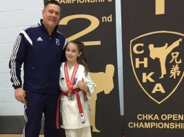Carla Wins Silver At The CHKA Open