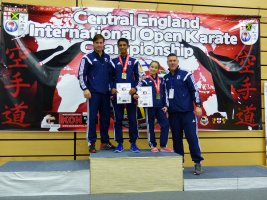 Carla and Louis Win Medals at the C E International Open